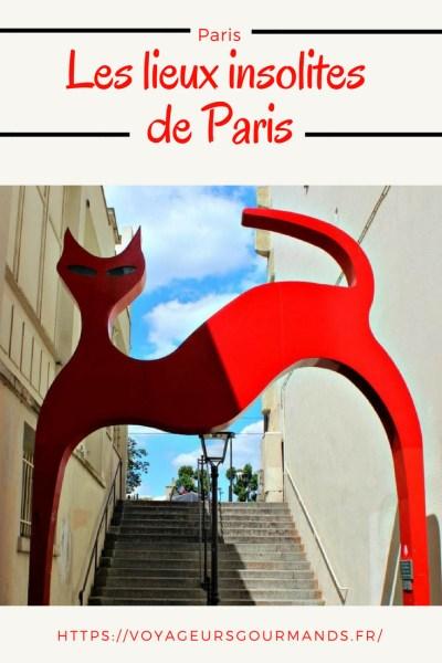 lieux insolites de Paris