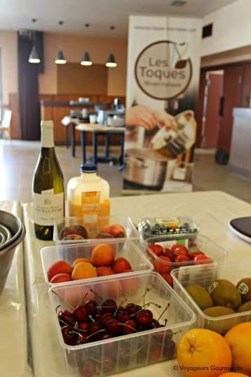 recette gratin au fruits