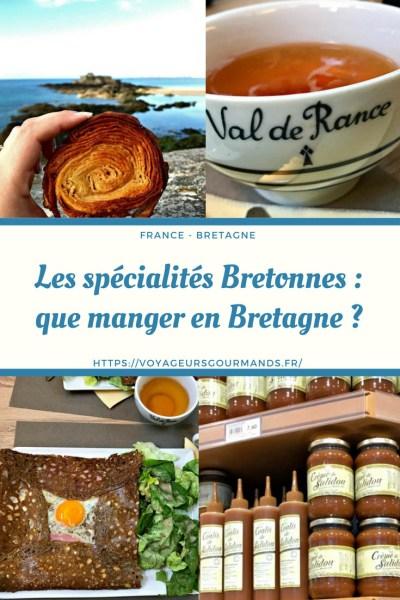 que manger en Bretagne