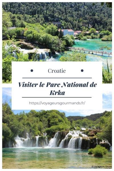 Visiter le Parc National de Krka