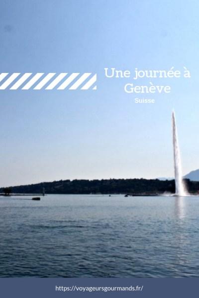Une journée à Genève
