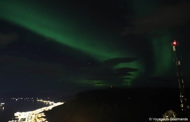 aurores boreales en Norvege