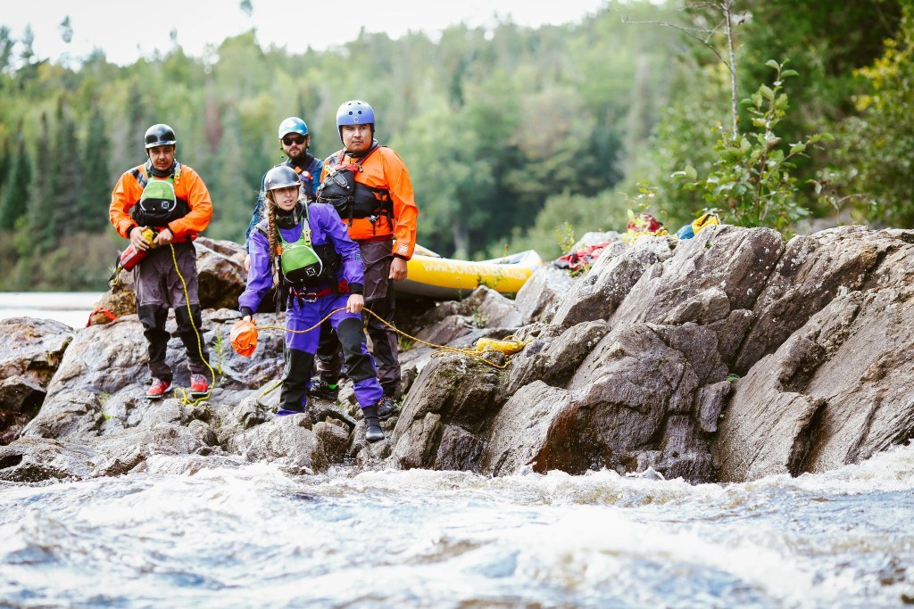 Whitewater Rescue Technician Course Dowstream Safety