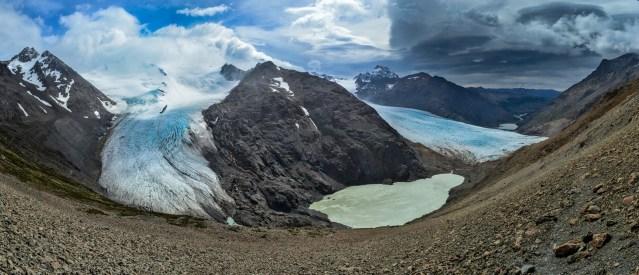 Pas del Viento, Patagonie, Argentine