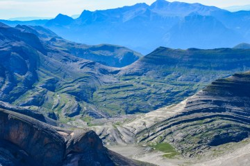 Refuge du Goritz vue du Taillon, Pyrénées espagnol
