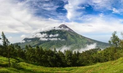 Volcan Mérapi, Java, Indonésie