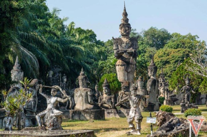 bouddha park vientiane