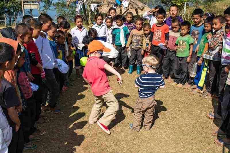 école agha nord du laos