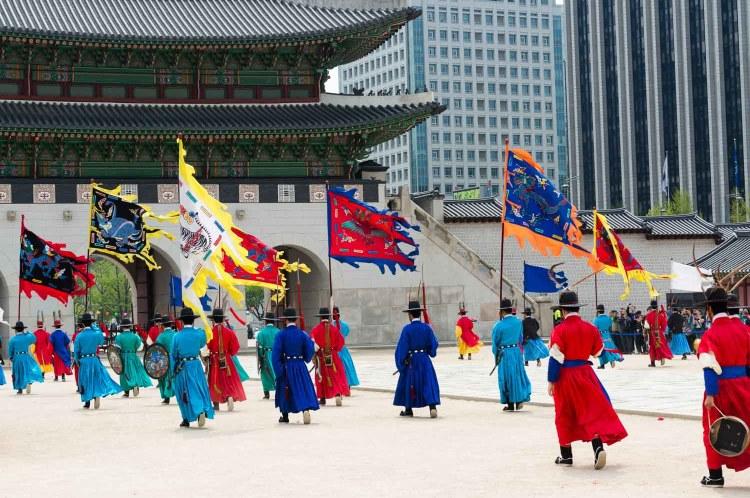 relève garde seoul
