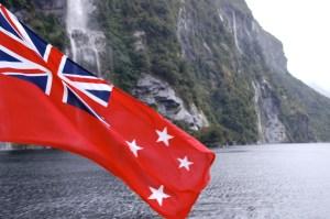 "Le drapeau ""bateau"" des kiwis"