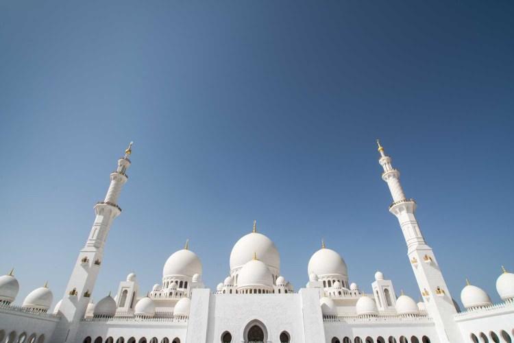 Abu Dhabi mosquée