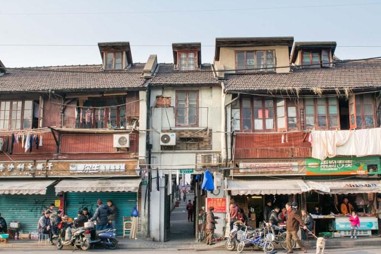 shanghai vieux quartiers