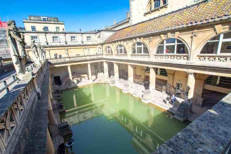 Les bains de Bath