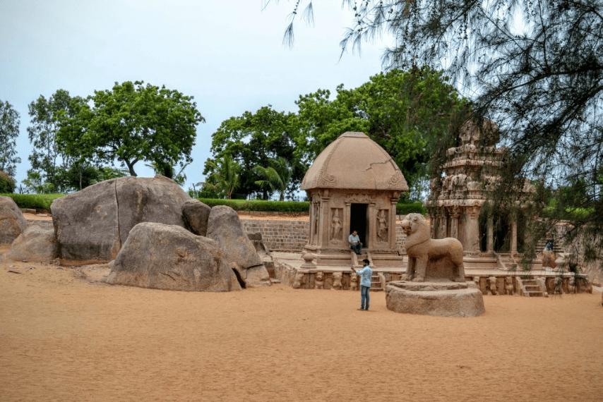 Five Rathas - mamallapuram