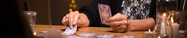 photo d'un tirage de carte de tarot