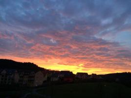 Sonnenuntergang Jena
