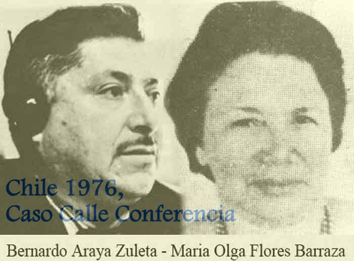 Caso Calle Conferencia: Condenan a 10 ex agentes DINA por la desaparición de matrimonio Araya- Flores
