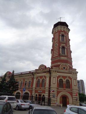 La torre del bombero en Volgograd. Foto de Schepótiev A.V., Wikipedia