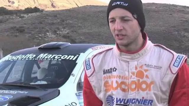 """Fabio Grinóvero tras su victoria:""""Queremos estar en la clase mayor del Rally Argentino"""""""