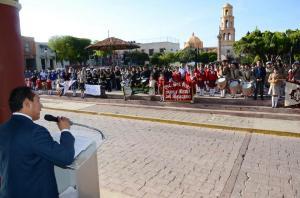 El alcalde en su mensaje dirigido a los colonenses