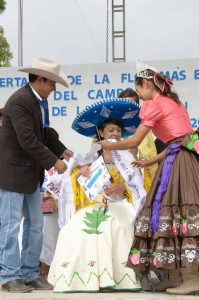 Brenda Guadalupe Elías de la comunidad de Urecho, fue la ganadora