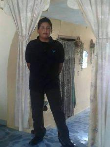 Leonel González Ruíz menor desaparecido