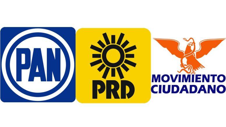 Resultado de imagen para Frente (PRD-PAN-MC) 4 distritos locales