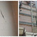 Daños en viviendas de Querétaro y en edificio de Seguridad Pública de SJR, saldo del sismo