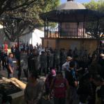 VIDEOS: Reprime alcalde Mauricio Kuri a manifestantes con fuerza pública en Corregidora
