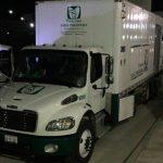 Decomisan 371 kilos de cocaína; iban ocultos en camión con logos del IMSS