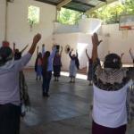 Reanudan actividades con Adultos Mayores en Landa de Matamoros