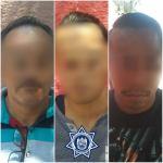 Policías de Corregidora desarticulan banda que días antes había robado en tienda de autoservicio