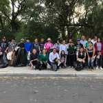 Lety Servín se suma a la limpia de la Rivera del Río en Huimilpan