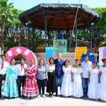 Festejan Día del Estudiante en el Jardín Principal de Tolimán