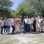 Inauguran obra en Panteón La Lagunita, Landa de Matamoros