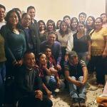 """Convive en posada alcalde Juan Carlos Linares con estudiantes de la """"Casa del Estudiante de Peñamiller"""" en Querétaro"""