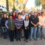 Lety Servín entrega importantes obras en Lagunillas, Huimilpan