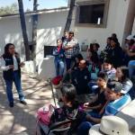 Promueve Lety Servín la Prevención del Delito en el CECyTEQ Huimilpan