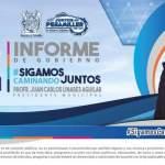Los hechos están cambiando a Peñamiller: Alcalde Juan Carlos Linares por su Segundo Informe
