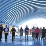 Entregan arcotecho en Secundaria Técnica de La Lira, Pedro Escobedo