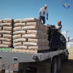 Entregan material para vivienda digna en Buenavista, Huimilpan