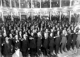 Constituyentes en 1917