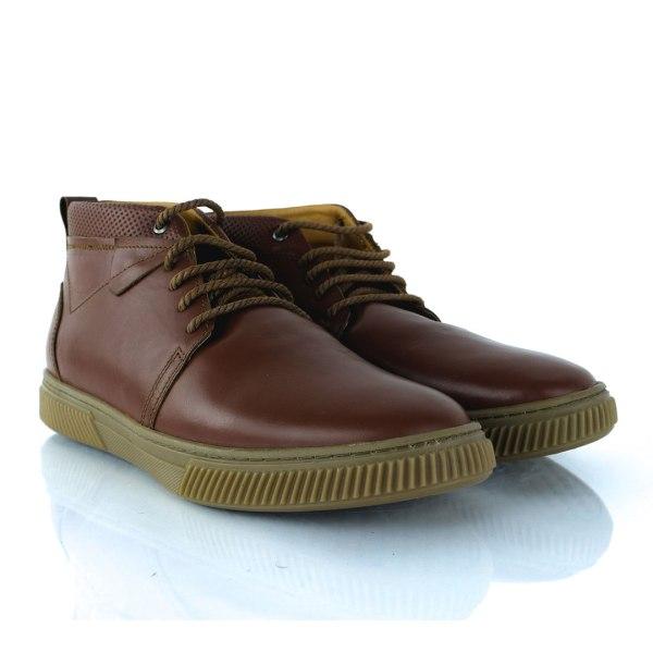 Chaussure Bottine Homme 100% Cuir