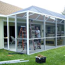 patio screen enclosures in orlando fl