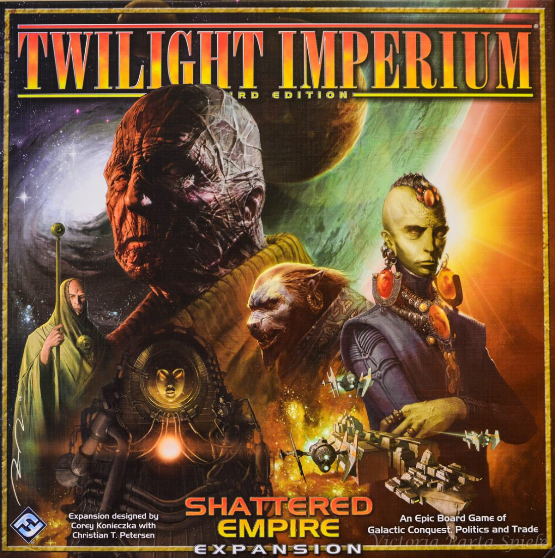 Twilight Imperium 3rd Edition Shattered Empire Expansion