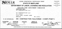 Contractor License New Castle County: Software Free ...