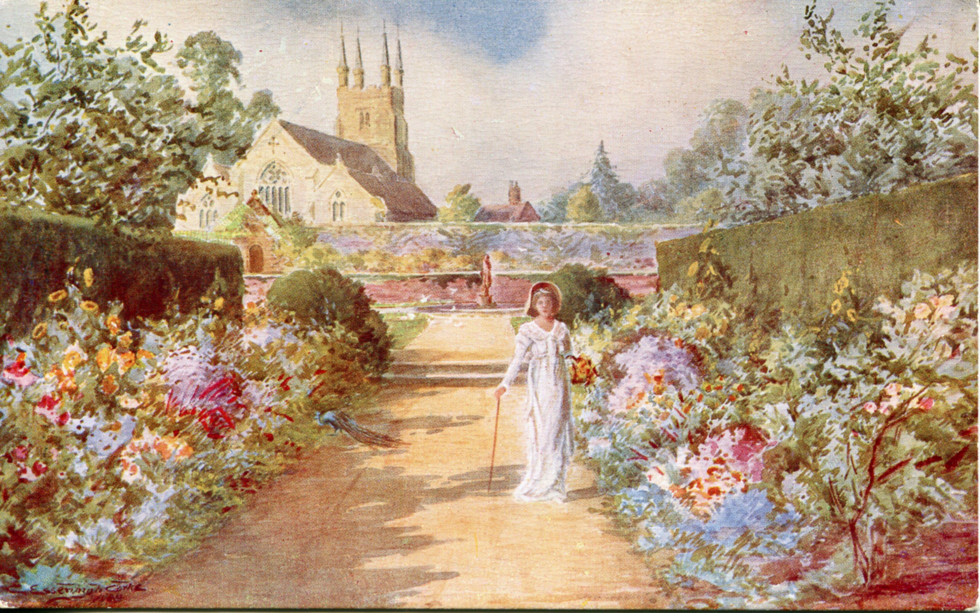 Paintings Vintage Postcards