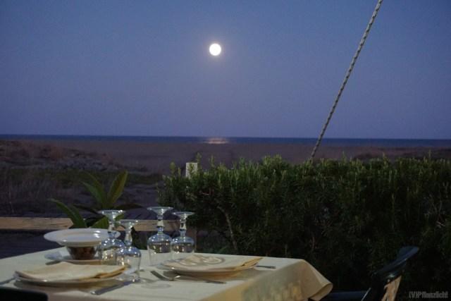Restaurant in San Giovanni, Sardinien