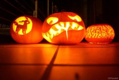 Halloween-Kürbisse, Halloween