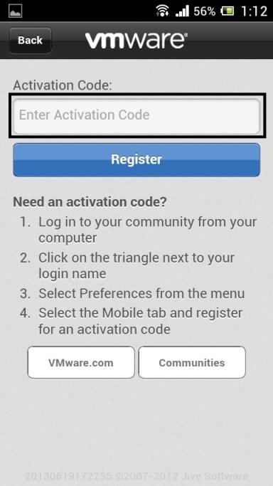 VMTN Community on Phone 9